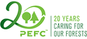 Duurzaamheidskeurmerk PEFC hout pellet